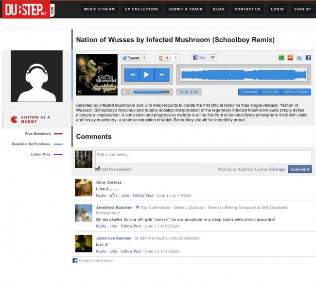 Nation of Wusses (Schoolboy Remix) Featured on Dubstep.net