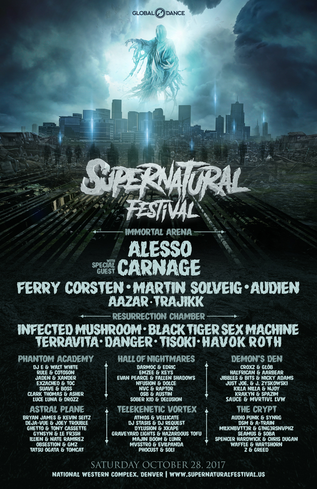 Usa Denver Co Supernatural Festival Infected Mushroom